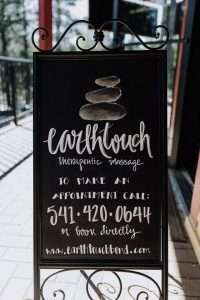 EarthTouch massage in Sunriver, OR